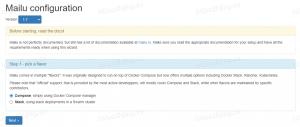 设置Mailu版本与Docker